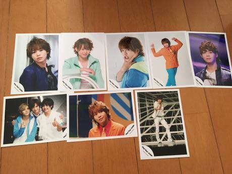 有岡大貴 公式写真8枚 コンサートグッズの画像