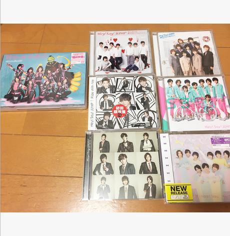 Hey!Say!JUMP 初回限定盤 コンサートグッズの画像