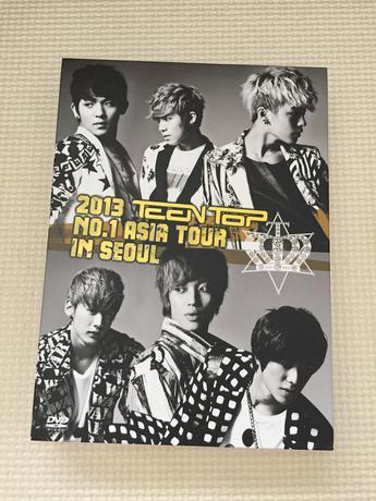 2013 TEENTOP No.1 ASIA TOUR IN SEOUL ライブグッズの画像