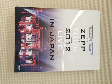 TEENTOP ZEEP 2012 LIVE IN JAPAN ライブグッズの画像