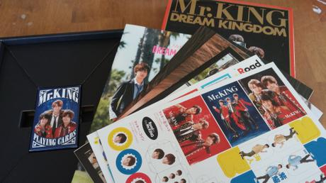 Mr .KINGファースト 写真集DREAM KINGDOM 限定版 コンサートグッズの画像