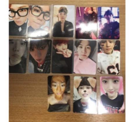 EXO チャニョル ベッキョン トレカセット ライブグッズの画像