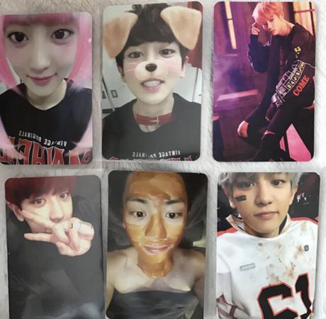 EXO チャニョル トレカセット ライブグッズの画像