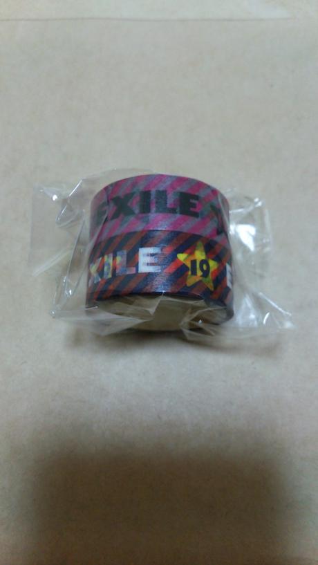 EXILE マスキングテープ2個セット ライブグッズの画像