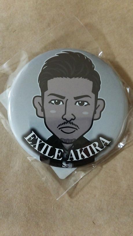 EXILE THE SECOND AKIRA 缶バッチ ライブグッズの画像
