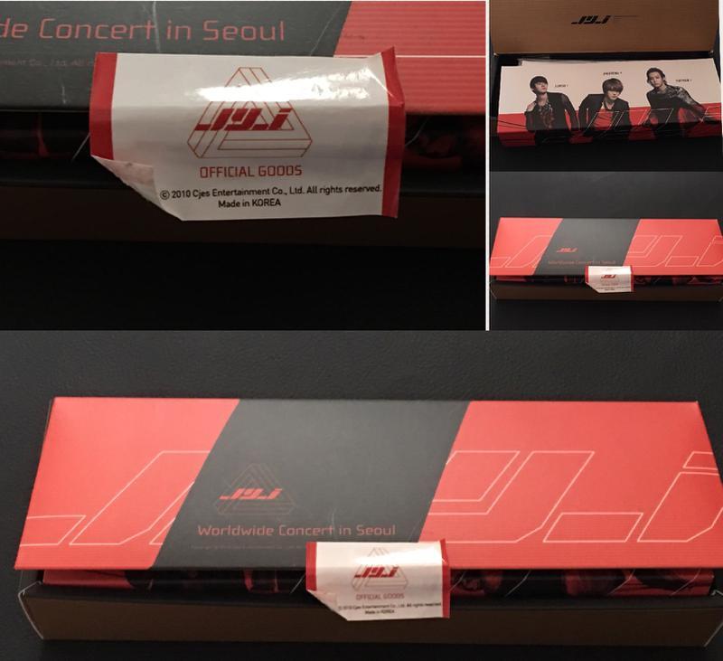 JYJ Seoul concert2010公式グッズ ●入手困難品 ライブグッズの画像