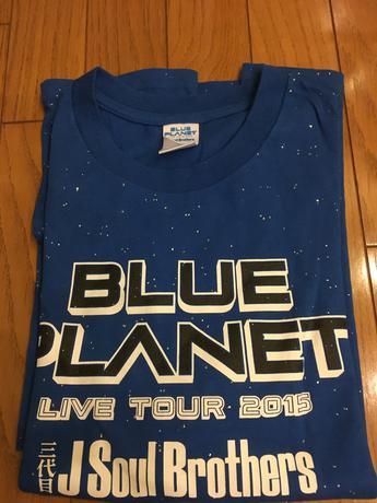 三代目 JSB【 BLUE PLANET LIVE TO 2015】Tシャツ ライブグッズの画像