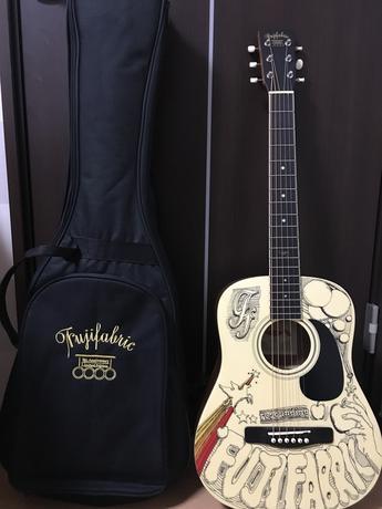フジファブリック 完全受注生産 オリジナルミニギター FAB GUITAR ライブグッズの画像