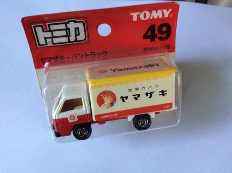 トミカ ヤマザキ トラック グッズの画像