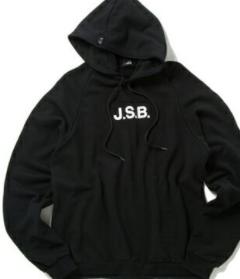 三代目 「J.S.B.」パーカー黒 正規品(新品)