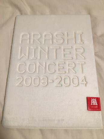 嵐 WINTERCONCERT 2003-2004 パンフレット コンサートグッズの画像