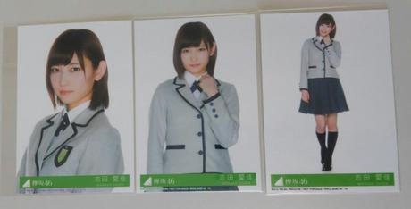 志田愛佳 サイレントマジョリティー封入コンプ ライブ・握手会グッズの画像