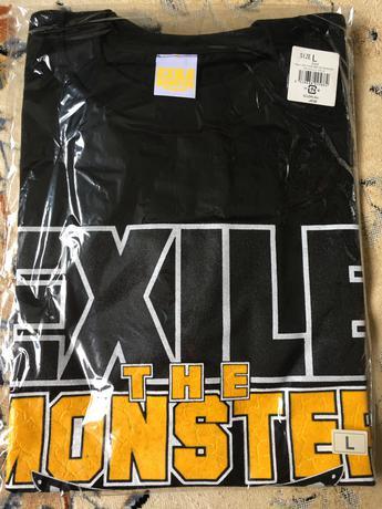 EXILE LIVE TOUR2009 ツアーTシャツ 新品未開封 ライブグッズの画像