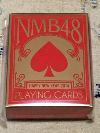 NMB48  2014年福袋 トランプ ライブグッズの画像