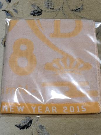 NMB48  2015年福袋 ジャガーハンドタオル ライブグッズの画像