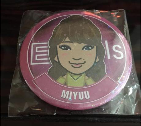 MIYUU缶バッチ ライブグッズの画像