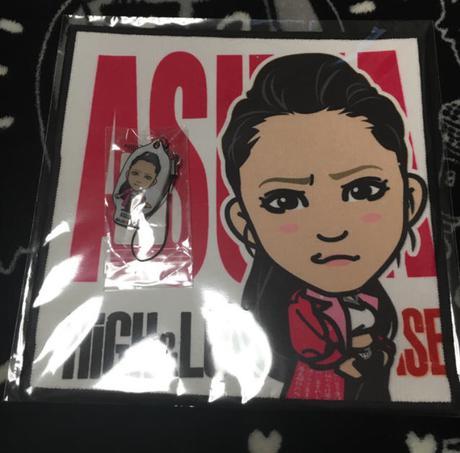 ASUKAセット HiGH&LOW ライブグッズの画像