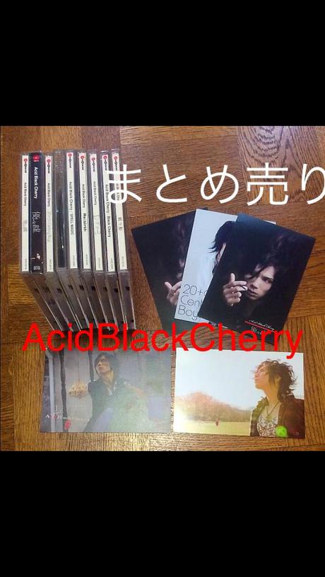 【AcidBlackCherry CD】まとめ売り ライブグッズの画像