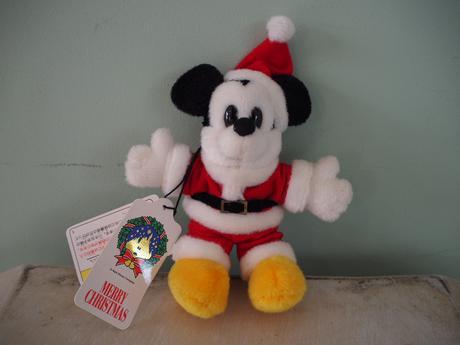 ミッキー サンタさん ブローチ ディズニーグッズの画像
