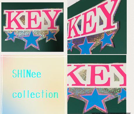 うちわ部品 SHINee key ライブグッズの画像