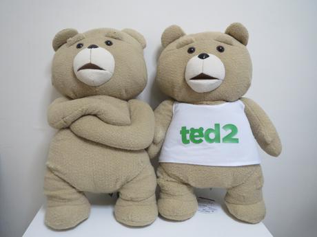 テッド2  ぬいぐるみXL 2点セット ※値下げしました グッズの画像