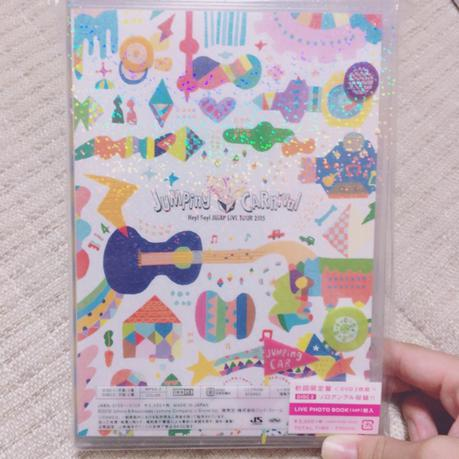 JUMPing CARnival LIVE TOUR 2016 初回盤 コンサートグッズの画像