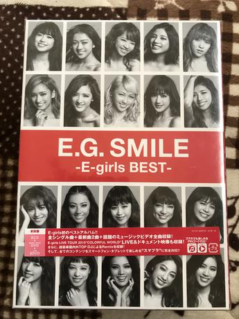E-girls Best ライブグッズの画像