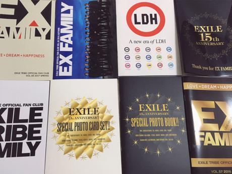 EXILE EX FAMILY FC限定 会報まとめ ライブグッズの画像