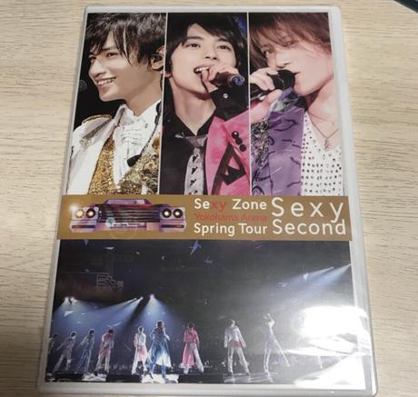 Sexy Second DVD コンサートグッズの画像