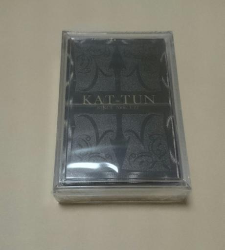 値下げ♪未開封 トランプ(KAT-TUN) コンサートグッズの画像