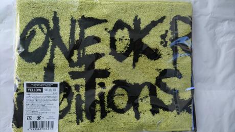 ONE OK ROCK マフラータオル ライブグッズの画像