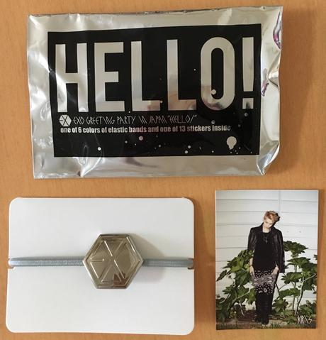 EXO Greeting Party in Japan ヘアゴム (クリス) ライブグッズの画像