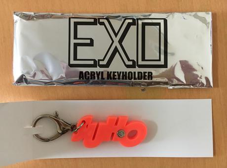 """EXO """"a-nation 2015"""" アクリルキーホルダー(スホ) ライブグッズの画像"""