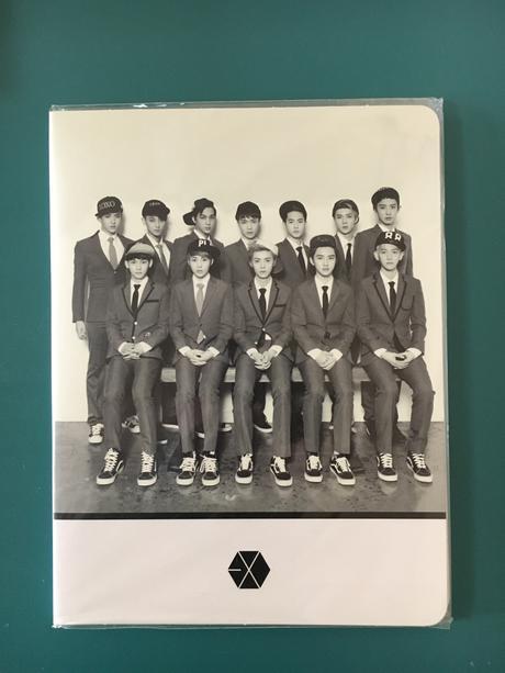 EXO公式グッズ ポストイットセット ライブグッズの画像