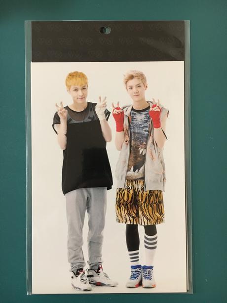 EXO公式グッズ レイ ルハン フォトカード2枚セット ライブグッズの画像