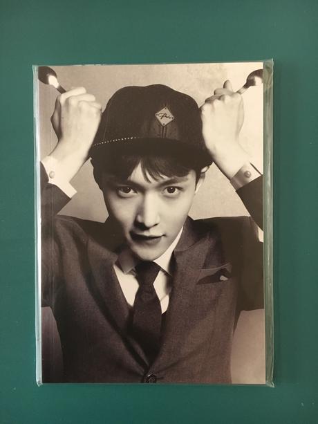 EXO公式グッズ LAY ノート ライブグッズの画像