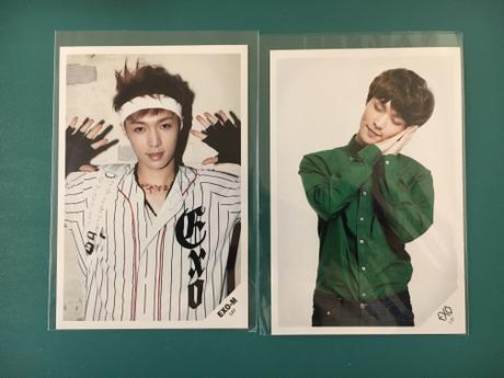 EXO公式グッズ LAY フォトカード 2枚 ライブグッズの画像