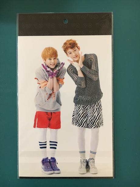 EXO公式グッズ チェン シウミン フォトカード2枚セット ライブグッズの画像