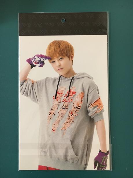 EXO公式グッズ シウミン フォトカード2枚セット ライブグッズの画像