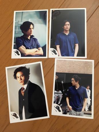 吾郎ちゃん写真4枚セット グッズの画像