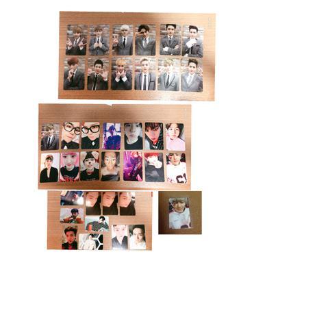 EXO トレカ 36枚セット ライブグッズの画像