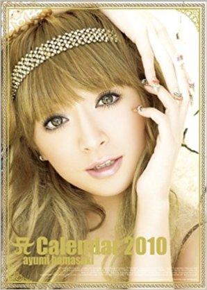 新品未使用◇浜崎あゆみ 壁掛けカレンダー 2010 超美品 ライブグッズの画像