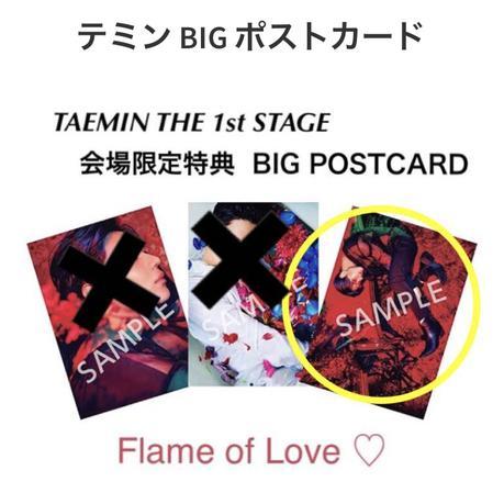 テミン BIG ポストカード ライブグッズの画像