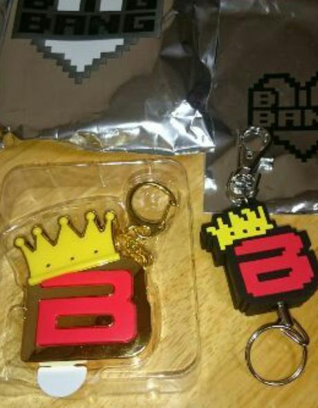2017 BIGBANG ファンミ ボイス リール付キーホルダーセットSOL ライブグッズの画像