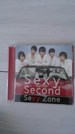 Sexy  Second通常盤 コンサートグッズの画像