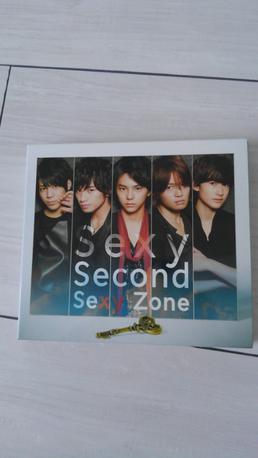 Sexy  Second初回限定盤 コンサートグッズの画像