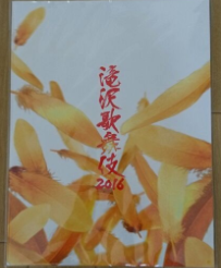 滝沢歌舞伎 2016 パンフレット(新品)