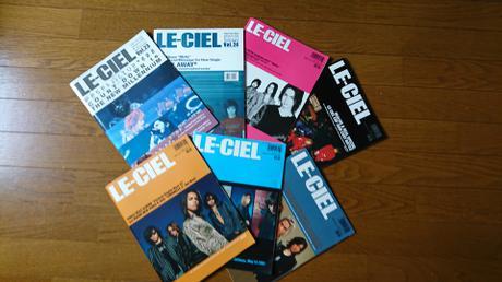 L'Arc~en~Cielの会報 ライブグッズの画像