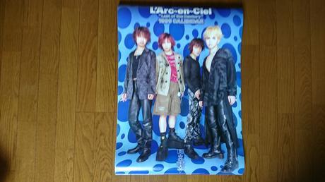 L'Arc~en~Cielのカレンダー ライブグッズの画像