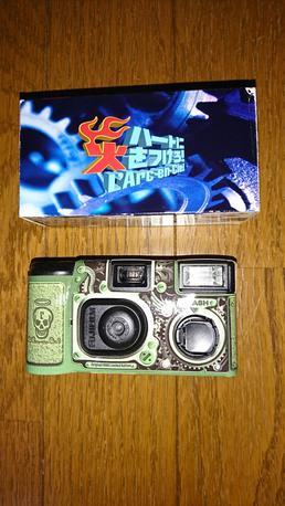 L'Arc~en~Cielの使い捨てカメラ ライブグッズの画像
